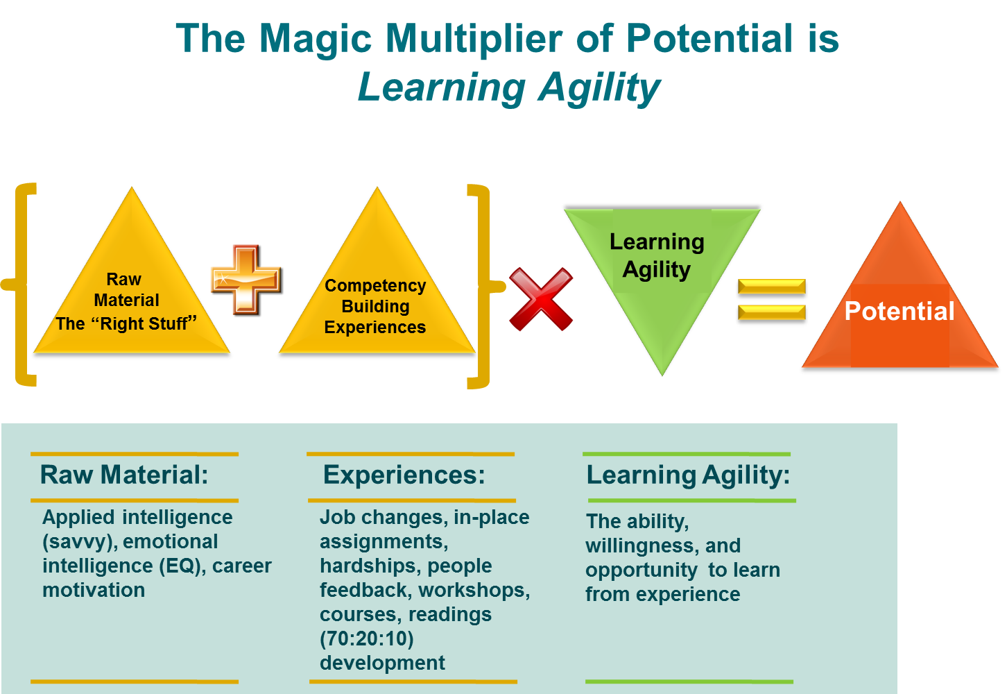 the magic multiplier of potential is learning agility